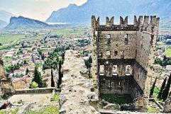 Vista dal Castello di Arco